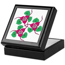 Ginger Flower Keepsake Box