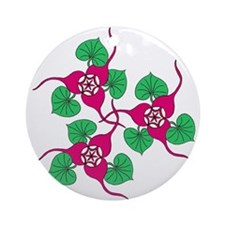 Ginger Flower Ornament (Round)