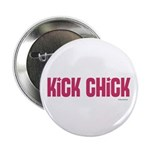 Kick Chick (Raspberry Sorbet) Button
