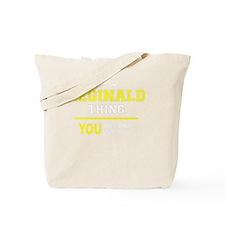 Funny Reginald Tote Bag