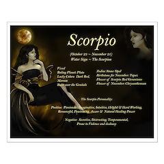 Goddess Scorpio Posters
