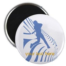 Personalisable Sport Blue Baseball Hobby Magnets