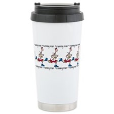 Cute Marathon runners Travel Mug