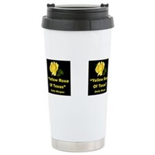 Cute Yellow Thermos Mug