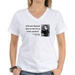 Nietzsche 12 Women's V-Neck T-Shirt