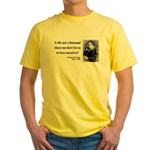 Nietzsche 12 Yellow T-Shirt