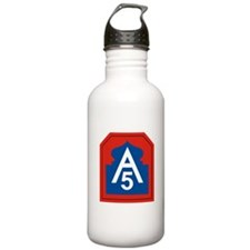 5th Army.png Water Bottle