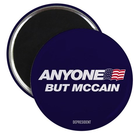 "Anyone But McCain 2.25"" Magnet (100 pack)"