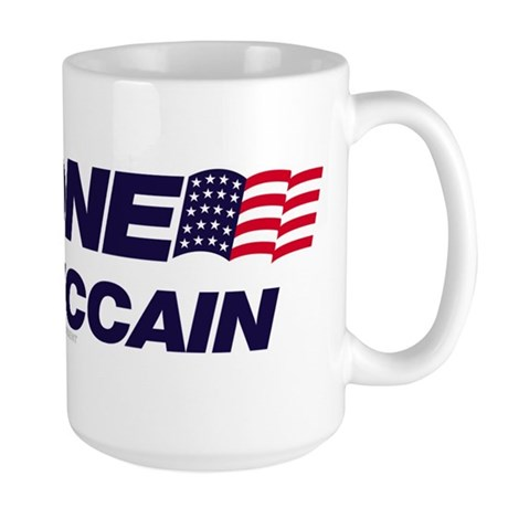 Anyone But McCain Large Mug