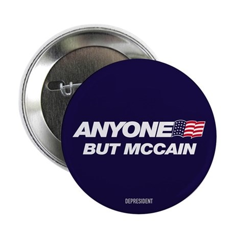 "Anyone But McCain 2.25"" Button (100 pack)"