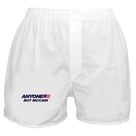 Anyone But McCain Boxer Shorts