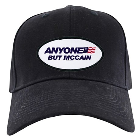 Anyone But McCain Black Cap