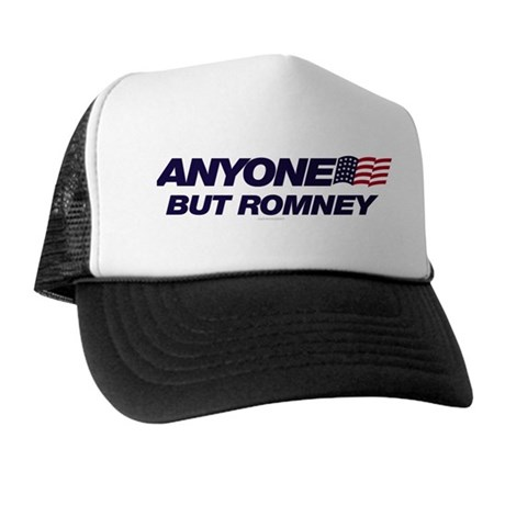 Anyone But Romney Trucker Hat