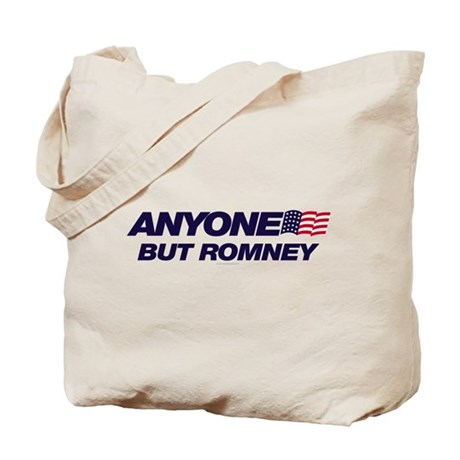 Anyone But Romney Tote Bag
