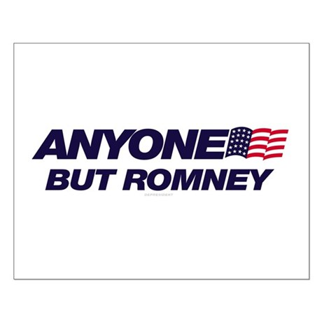 Anyone But Romney Small Poster