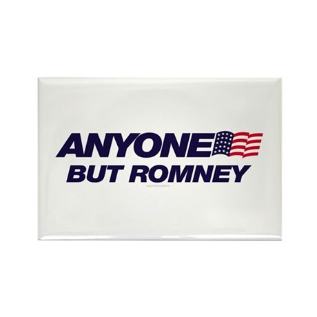 Anyone But Romney Rectangle Magnet (10 pack)