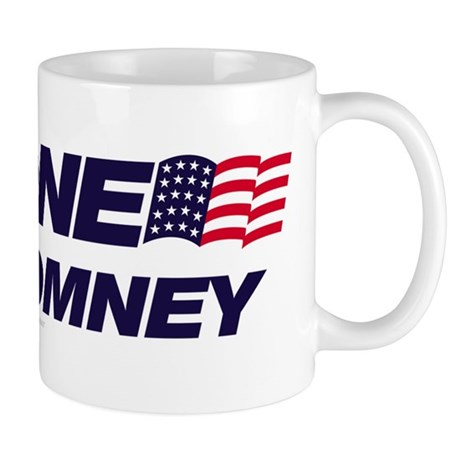 Anyone But Romney Mug