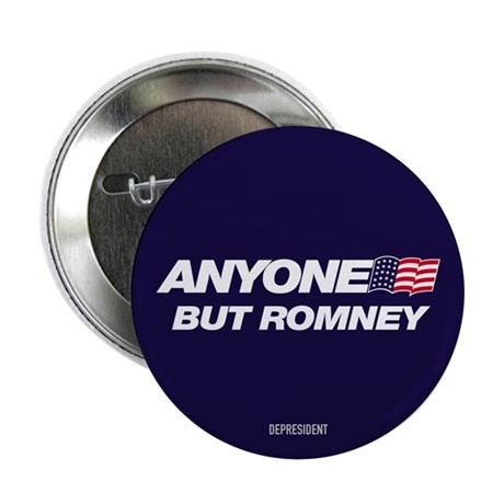 Anyone But Romney Button