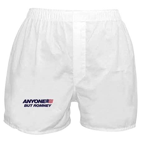 Anyone But Romney Boxer Shorts