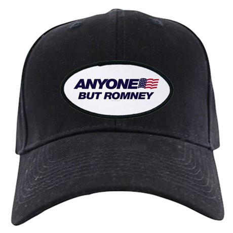 Anyone But Romney Black Cap