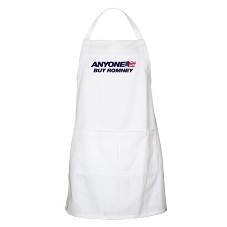 Anyone But Romney BBQ Apron