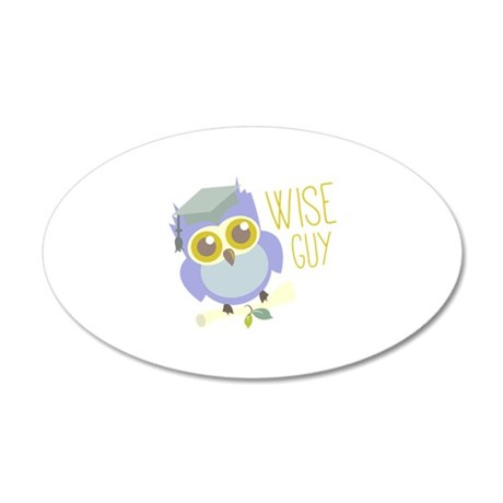 Wise Guy Wall Decal