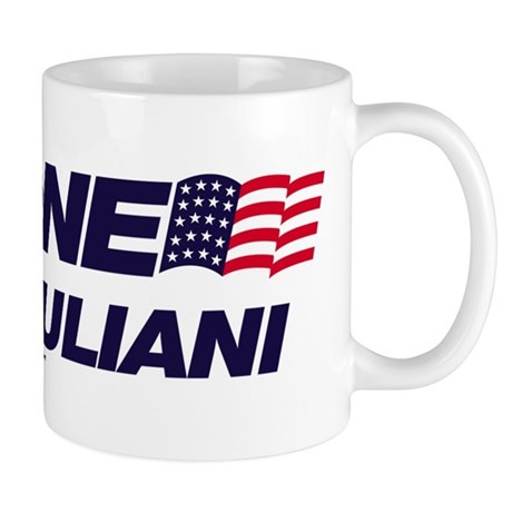 Anyone But Giuliani Mug