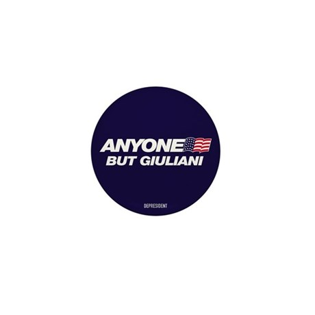 Anyone But Giuliani Mini Button