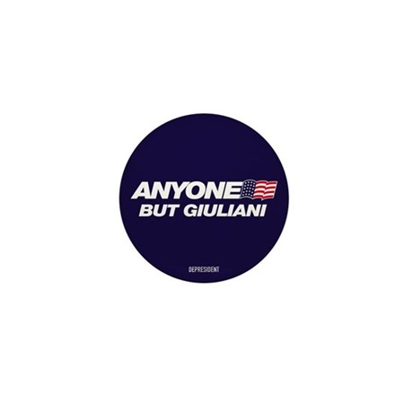 Anyone But Giuliani Mini Button (100 pack)