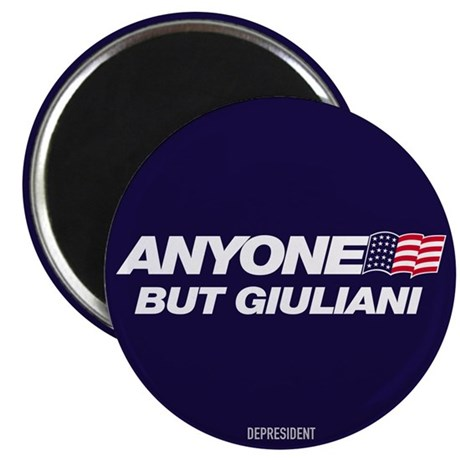 "Anyone But Giuliani 2.25"" Magnet (10 pack)"