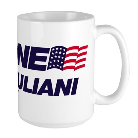 Anyone But Giuliani Large Mug