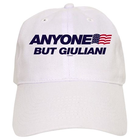 Anyone But Giuliani Cap
