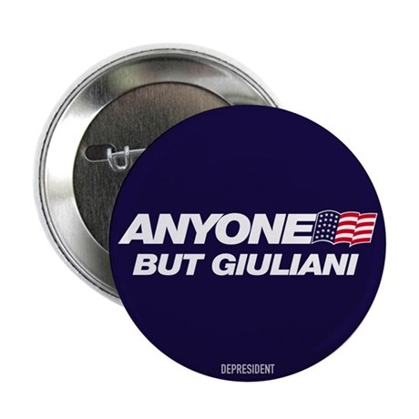 Anyone But Giuliani Button