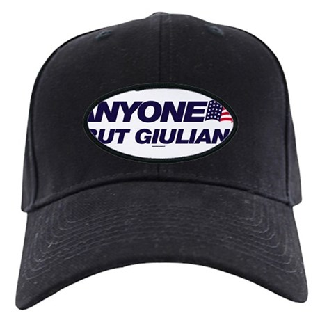 Anyone But Giuliani Black Cap
