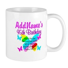 BLESSED 95TH Small Mug