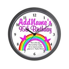 CHRISTIAN 95TH Wall Clock
