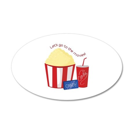 To The Movies Wall Decal