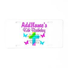 95TH PRAYER Aluminum License Plate