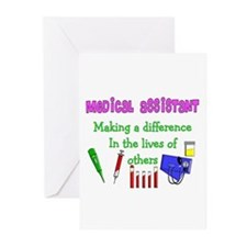 Cute Certified medical assistant Greeting Cards (Pk of 20)