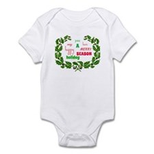 Holiday Message Infant Body Suit
