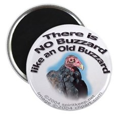 No Buzzard Like Old Buzzard Magnet