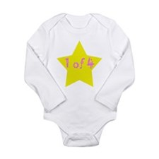 Funny Family and baby Long Sleeve Infant Bodysuit