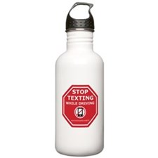 Funny Driving Water Bottle