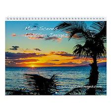 Maui Scenes Wall Calendar