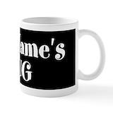 Personalized name Small Mugs (11 oz)