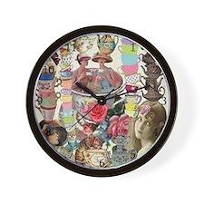 Ladies' Tea Wall Clock