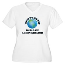 World's Sexiest Database Adminis Plus Size T-Shirt