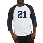 Deluded 21 Baseball Jersey
