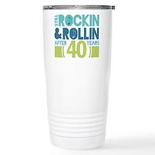 Cute 40 anniversary Travel Mug