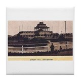 Spanish Fort Concert Hall - 1 Tile Coaster